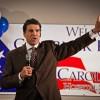 Rick Perry headed for Mason City