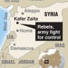 Rare inside view of four days of Syria fighting