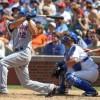 Mets punish Cubs, 17-1, as Samardzija surrenders nine runs on six hits and four walks