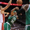 LeBron, Bosh and Wade fuel second-half surge as Celtics finally run out of time