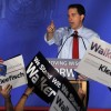 Walker staves off recall effort in Wisconsin, keeps job