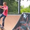 Skateboarders compete at Mason City Skatepark