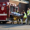 One injured Thursday when motorcycle hits building on North Federal