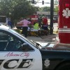 Man injured in motorcycle – car accident Wednesday