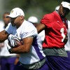 Vikings' Peterson working out again after allergy scare