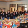 Mohawk musicians gather food for food bank