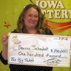 Floyd woman wins big lottery prize in Mason City