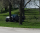 Collision reported Monday in East Park; city pickup strikes tree