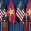President Obama visits Vietnam, says U.S. will sell the country arms
