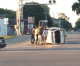 Thursday morning accident in Clear Lake overturns SUV, one hurt