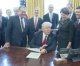 President Trump ready to cut the red tape, White House says (video)
