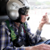 Mercy helps centenarian fulfill dream of flying in helicopter (video)