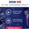 """President Trump asks for financial contributions in """"sweepstakes"""" to meet him at rally"""