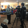 """Candidate for Iowa Governor Cathy Glasson stops in Mason City, says """"Clean water should be the birthright of every Iowan"""""""