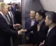 "Freed American hostages from North Korea: ""God Bless America, the greatest nation in the world"""