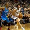 Despite loss to Thunder, newcomers Rubio and Williams give Timberwolves a spark