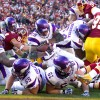 Peterson suffers torn ACL in Vikings' win over Redskins