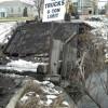 AGP bridge comes down
