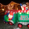 Christmas light displays draw onlookers