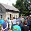 Log cabin dedicated at Hanlontown's Sundown Days celebration