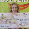 Mason City woman wins $10,000 lottery prize