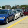 No injuries in six car pileup in Clear Lake Friday