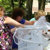 "Butteflies released at ""Wings of HOsPicE Garden Party"""