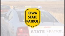 Iowa State Patrol trooper injured in auto crash Thursday night, remains in critical condition