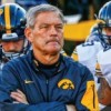 University of Iowa football media conference with Head Coach Kirk Ferentz
