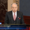 "Grassley says Republican agenda takes credit for ""booming U.S. economy"""