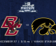 Hawkeyes ready for Boston College today in Pinstripe Bowl