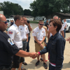 Gov. Reynolds calls special meeting of state response agencies, tours flood damaged areas