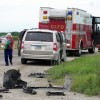 Britt man taken by ambulance to hospital after accident outside Mason City