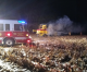 Combine fire reported in Worth county Saturday evening