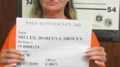 Forest City woman arrested in Palo Alto county