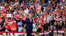 President Trump officially launches re-election campaign; Iowa Democrats respond