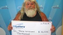 Mason City man wins $10,000 lottery prize