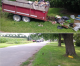 Runaway trailer smashes mailbox in Charles City; man cited