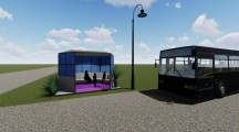 Plymouth to get new bus stop with help from University of Iowa students