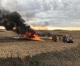 Firefighters douse rural Clear Lake tractor fire