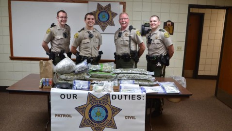 Plymouth and Lakota men busted with tens-of-thousands of dollars worth of weed and coke in traffic stop