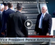 Vice President Mike Pence arrives in Iowa, will tour Winnebago Industries