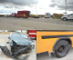 Northern Iowa woman cited after colliding with school bus