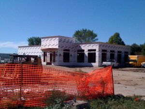Ruby Tuesday under construction in Mason City
