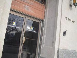 Alliant office in Mason City
