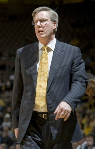 Fran McCaffery, Iowa head basketball coach
