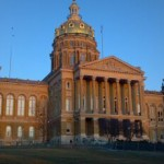 State capitol of Iowa