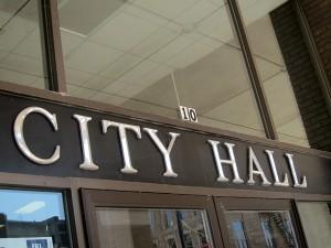 City Hall in Mason City