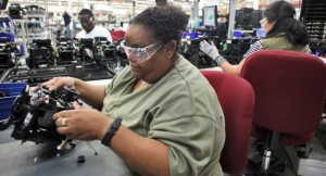 Manufacturing jobs pay more, data says