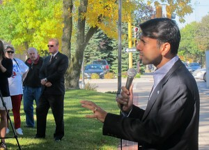 Bobby Jindal in Mason City in 2012